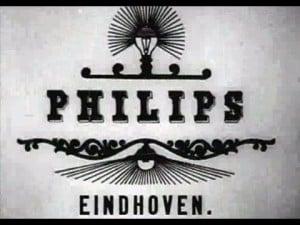 הלוגו הראשון של חברת פיליפס
