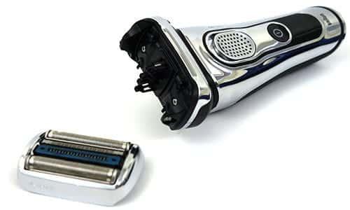 מכונת גילוח בראון סדרה 9 עם ראש גילוח מנותק