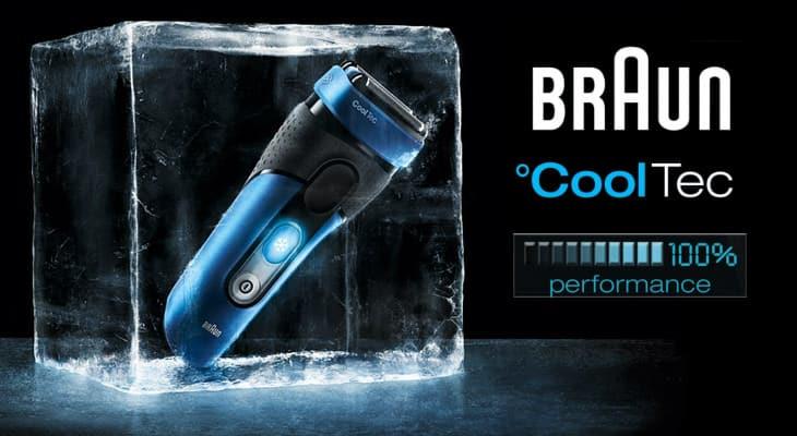 מכונת גילוח Braun CoolTec בראון קולטק