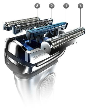 ראש של מכונת גילוח בראון סדרה 9 9095cc
